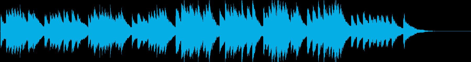 時報・チャイム風の名曲のメロディ・20の再生済みの波形