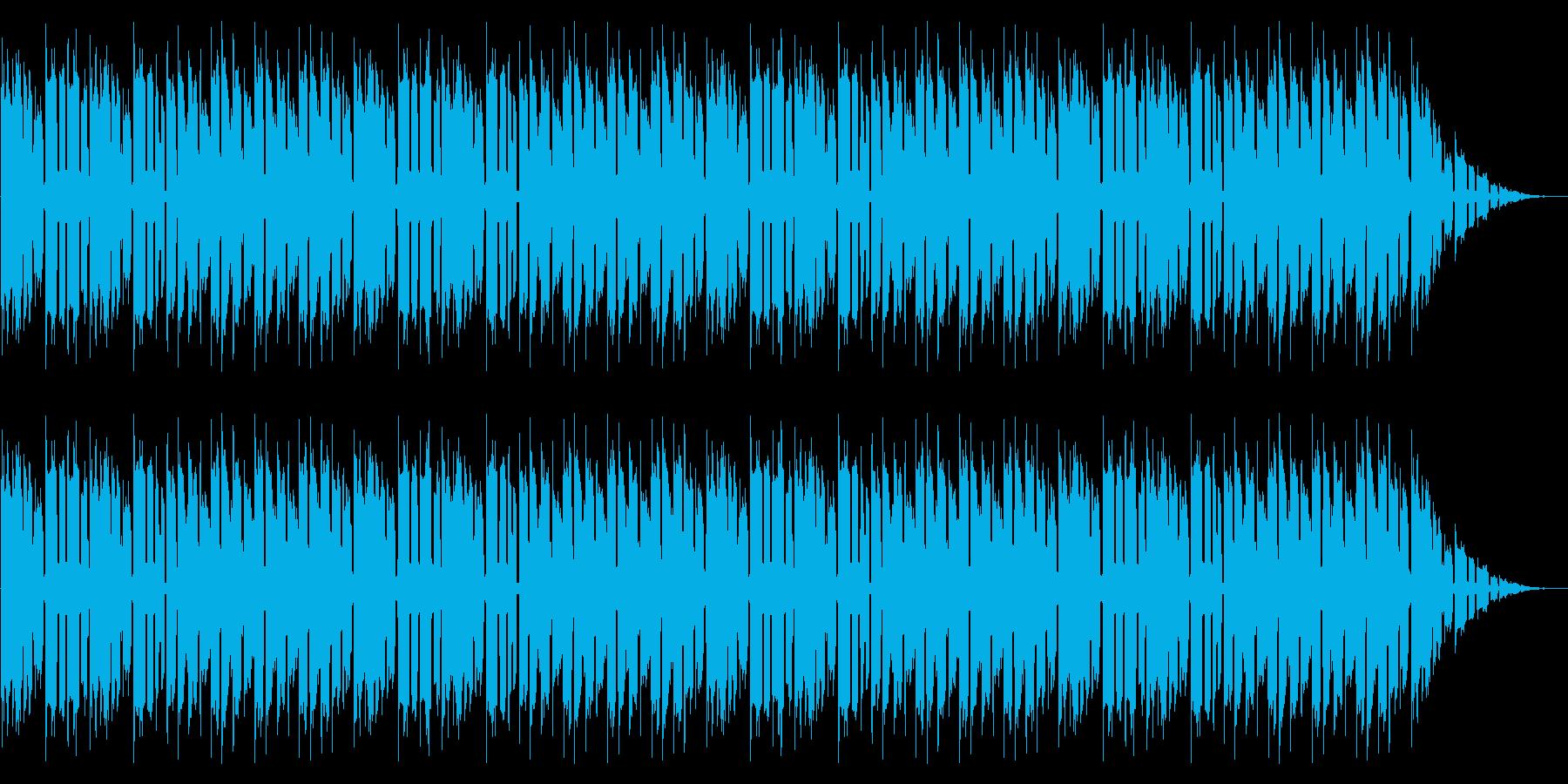 GB風スポーツゲームのタイトル曲の再生済みの波形