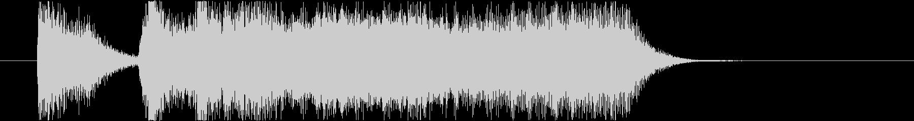 テッテレー (ブラスのファンファーレ)の未再生の波形