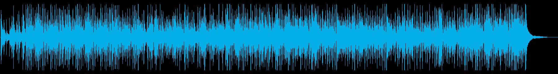 涼しげなBossa Novaの再生済みの波形
