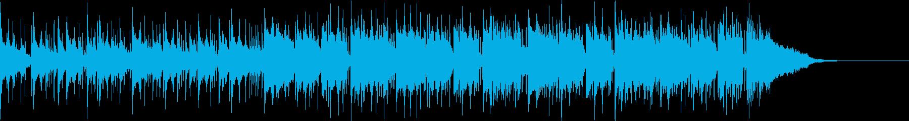 Pf「惰眠」和風現代ジャズの再生済みの波形