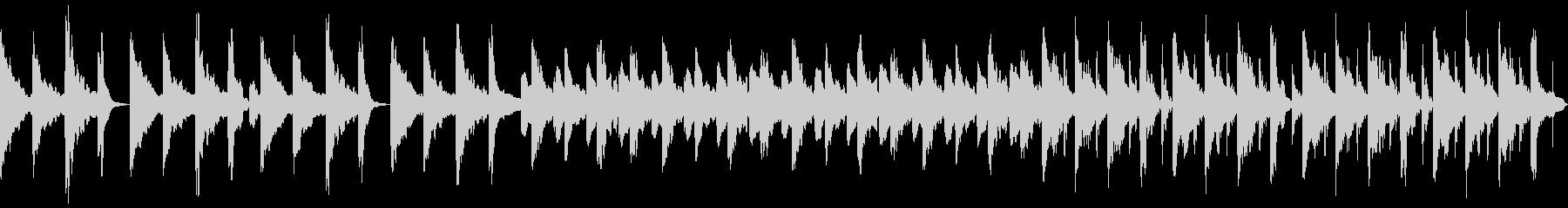 3拍子 シンプル 日常の未再生の波形