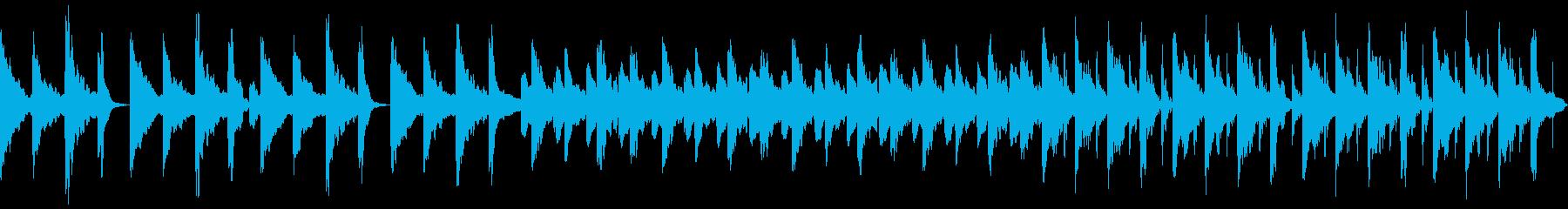 3拍子 シンプル 日常の再生済みの波形