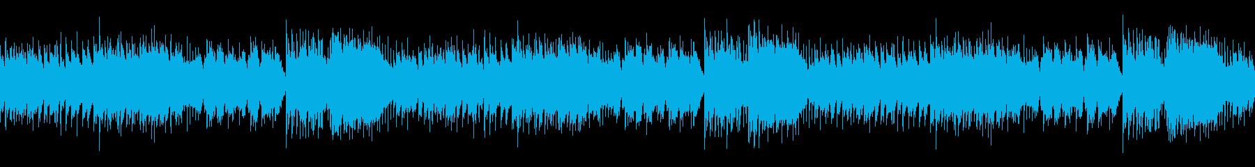 アコーディオンのたのしいポップなループの再生済みの波形