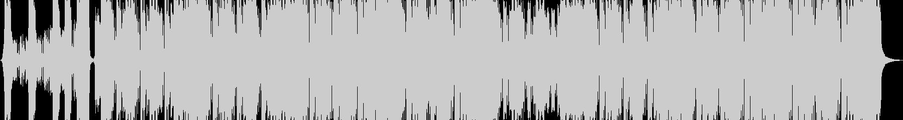 パワフルでスタイリッシュなロックの未再生の波形