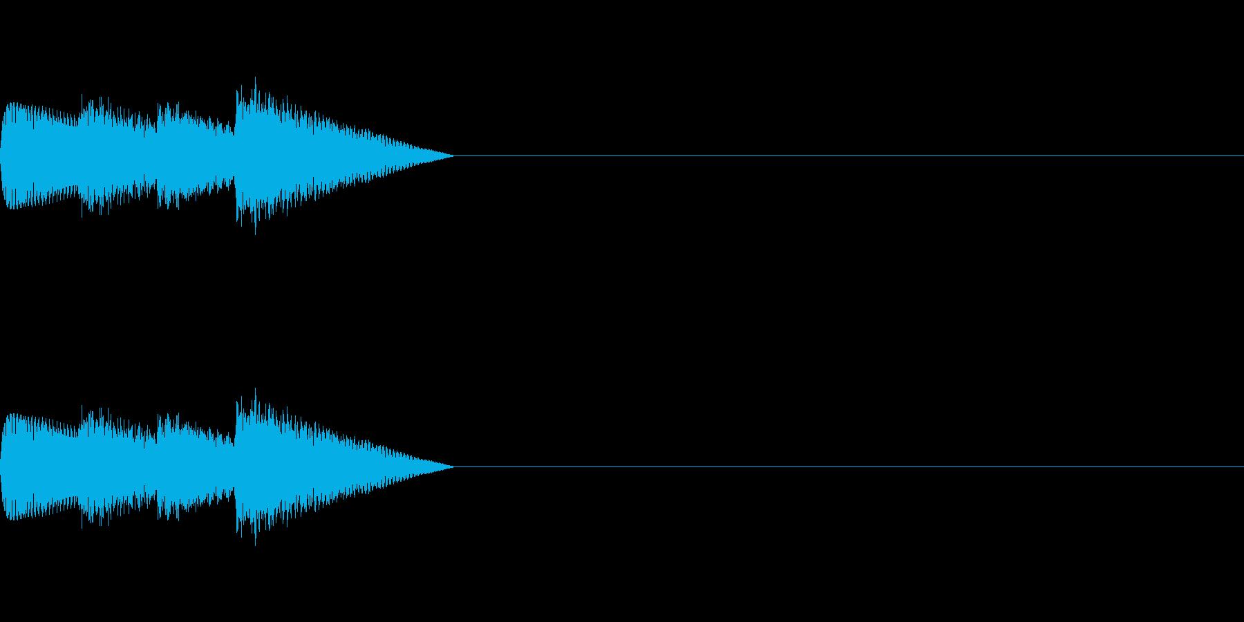 「ピロリロ♪」レトロゲーム風アイテムの再生済みの波形