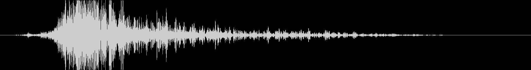 斬撃 ファイヤーイグナイトミディアム02の未再生の波形