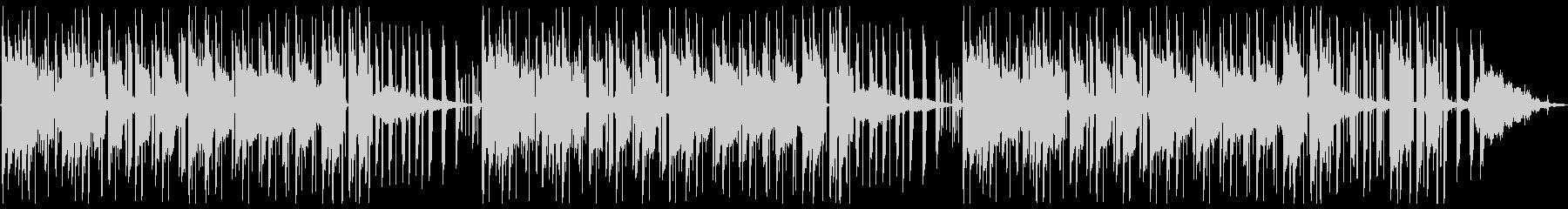 ピアノ_HipHopの未再生の波形