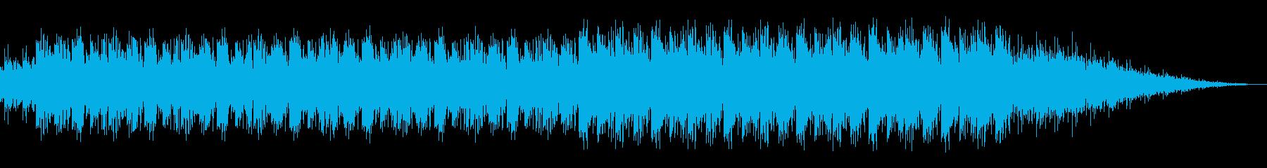 東南アジア風のエスニック音楽の再生済みの波形