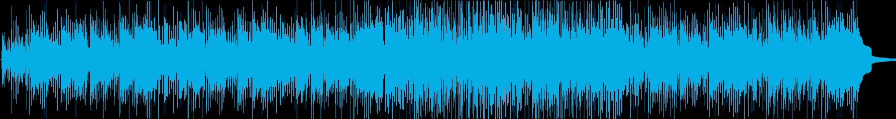 ポップインストゥルメンタル。明るく...の再生済みの波形
