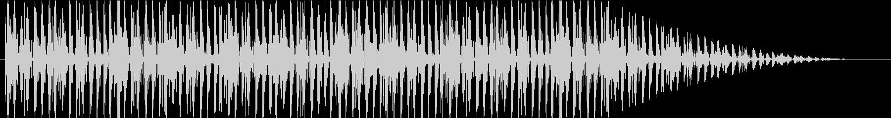 明るい jazz hopの未再生の波形