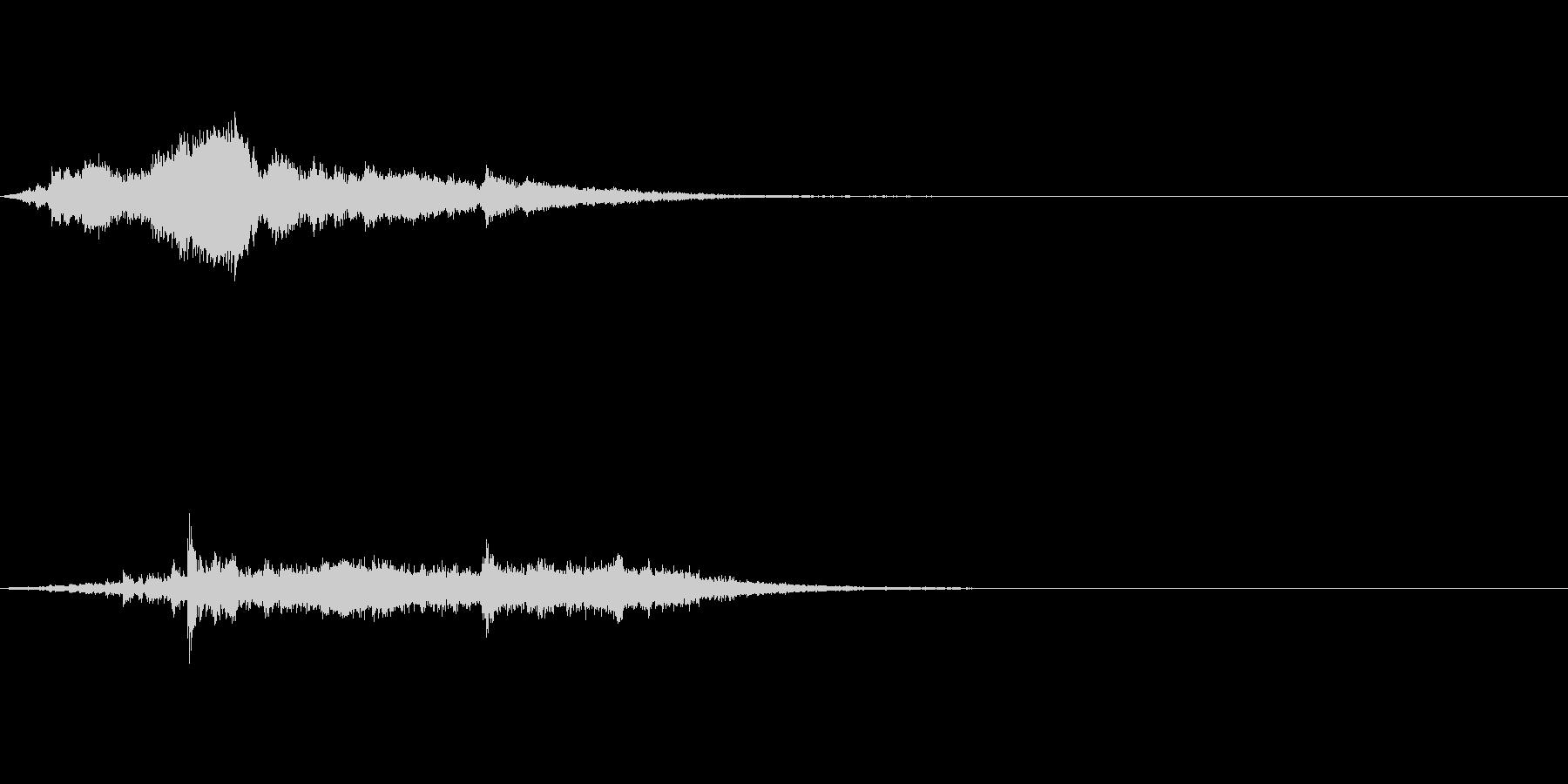 アイキャッチ 35の未再生の波形