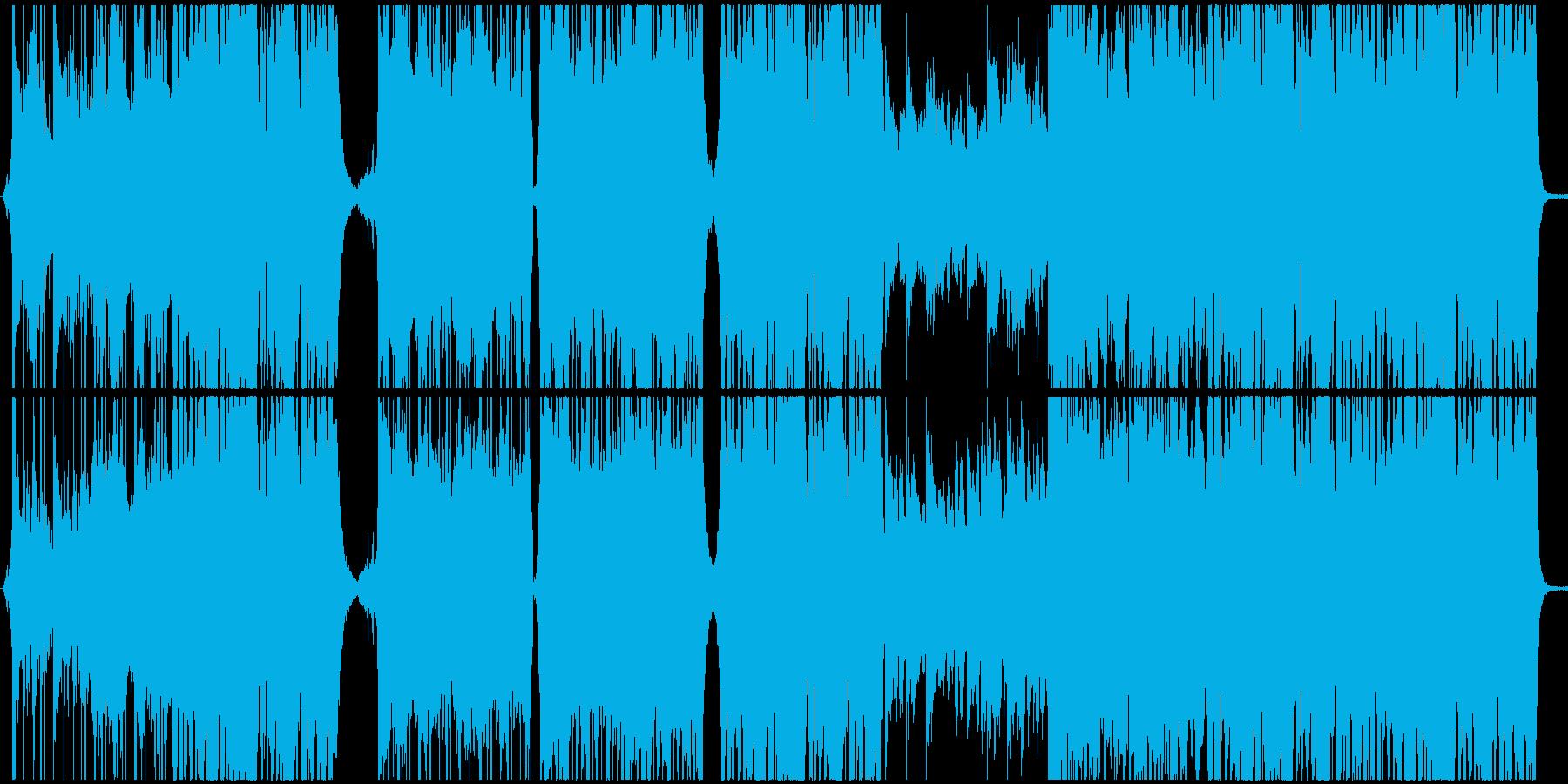 ポップ テクノ 実験的な フューチ...の再生済みの波形