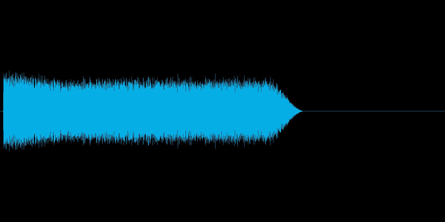 ブシャーッ(水鉄砲、水撃、水の魔法)の再生済みの波形