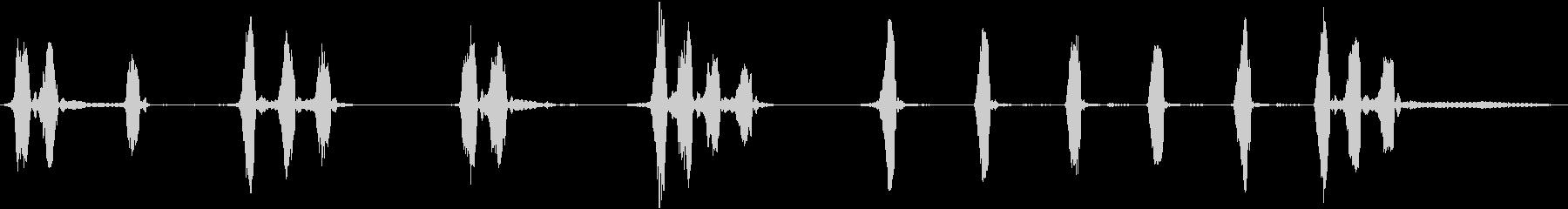 ロットワイラー:バーキング、動物の犬の未再生の波形