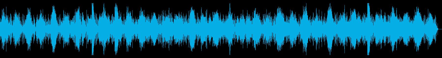 ニュース映像、CM,企製動画向けテクノの再生済みの波形