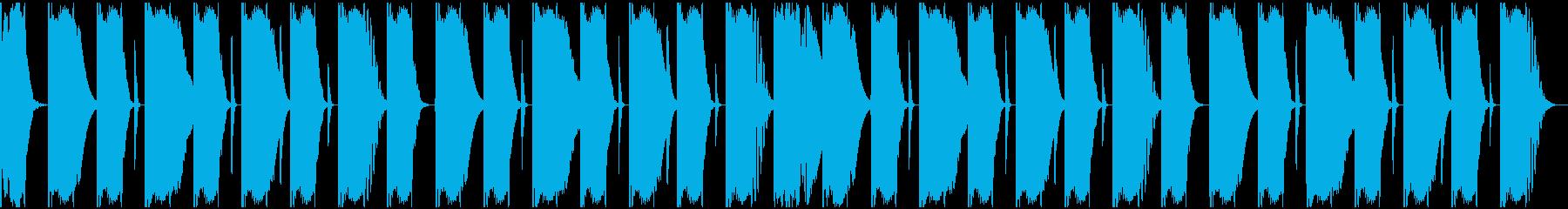 【エレクトロニカ】ロング2、ジングル2の再生済みの波形