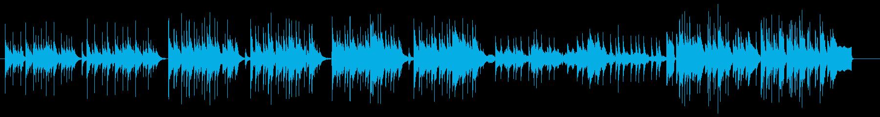 ミステリーの日常曲4の再生済みの波形
