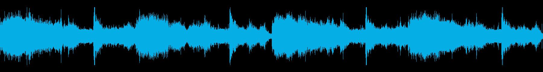 邪神を崇拝する者達の儀式音楽の再生済みの波形