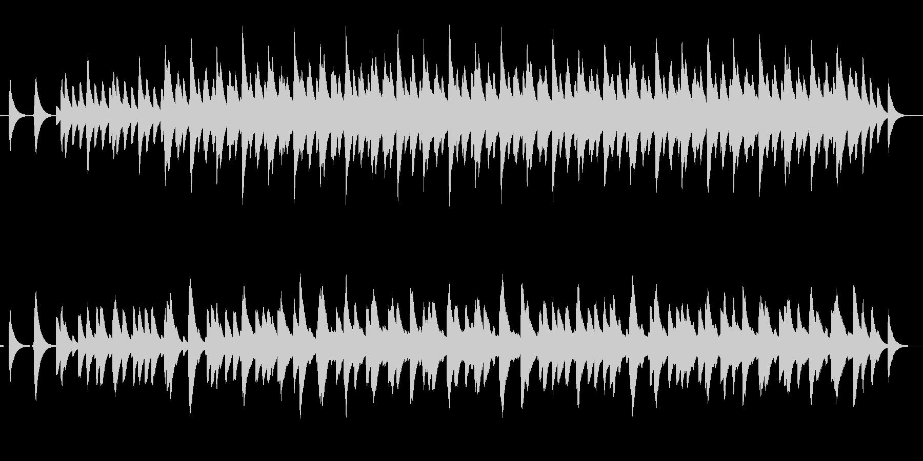 さまざまな間隔のベル音の未再生の波形