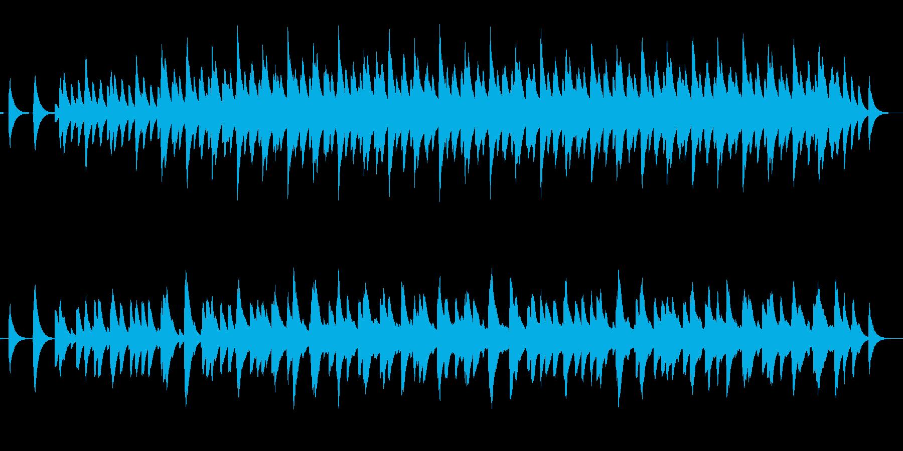 さまざまな間隔のベル音の再生済みの波形