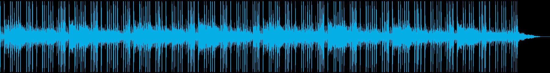 夜をイメージした浮遊感のあるループ曲ですの再生済みの波形
