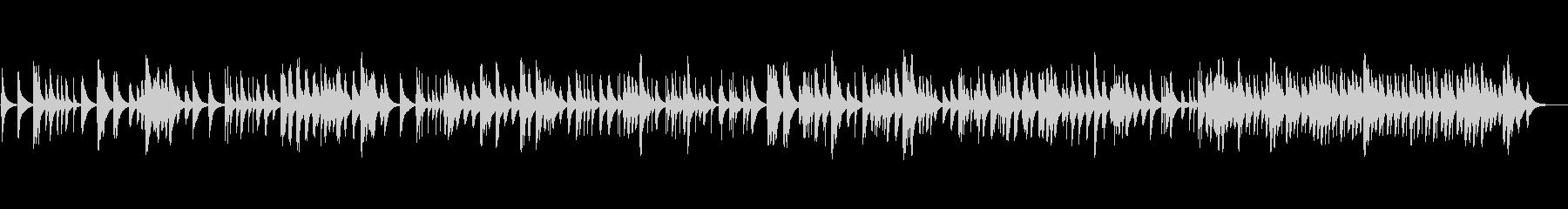 バッハ「ゴルトベルク変奏曲」のオルゴールの未再生の波形