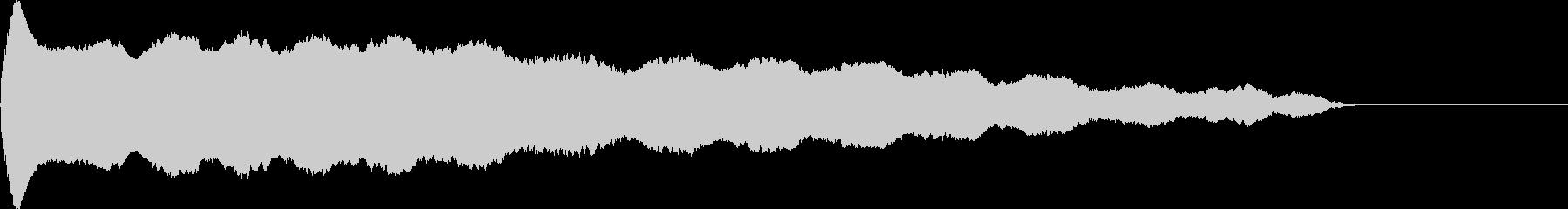 ウーウウウー (精霊の声)の未再生の波形