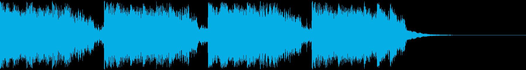 【子供ゲーム・アニメ】切ないSFサウンドの再生済みの波形