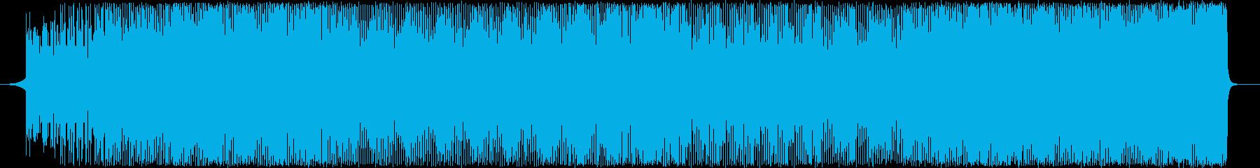 ファンクEDM-スポーツやクールなシーンの再生済みの波形