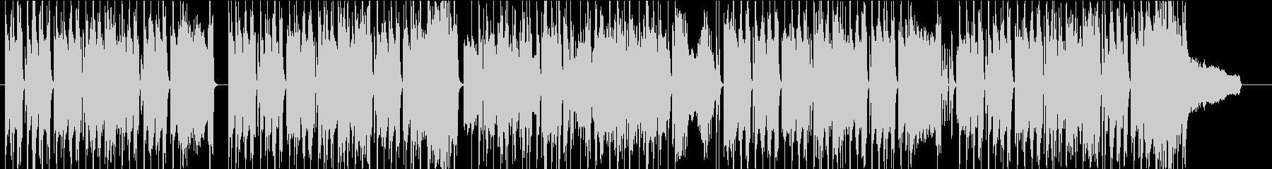 アニメ のんびり 48kHzの未再生の波形