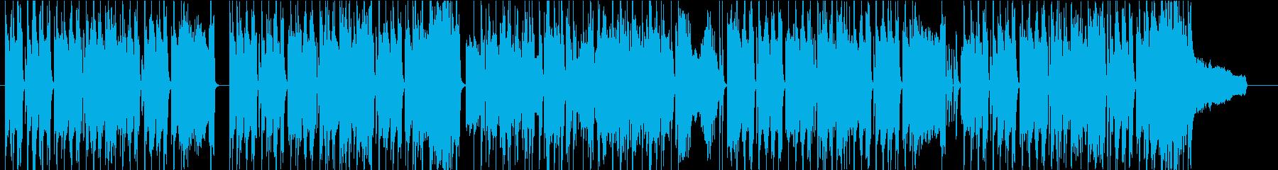 アニメ のんびり 48kHzの再生済みの波形