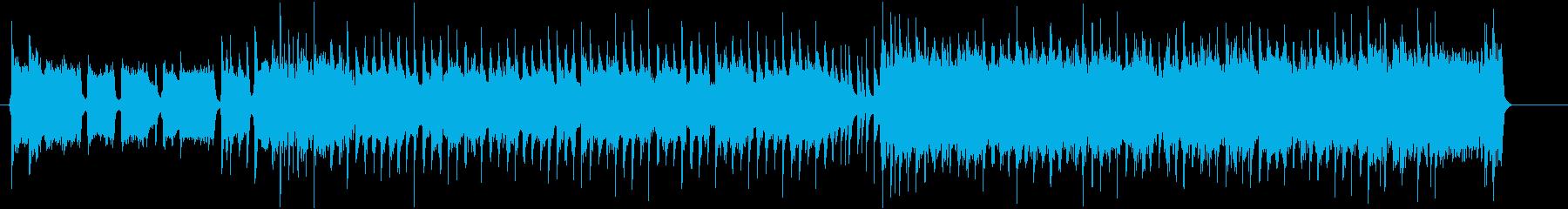 30秒 CMに!盛り上がる ライトロックの再生済みの波形