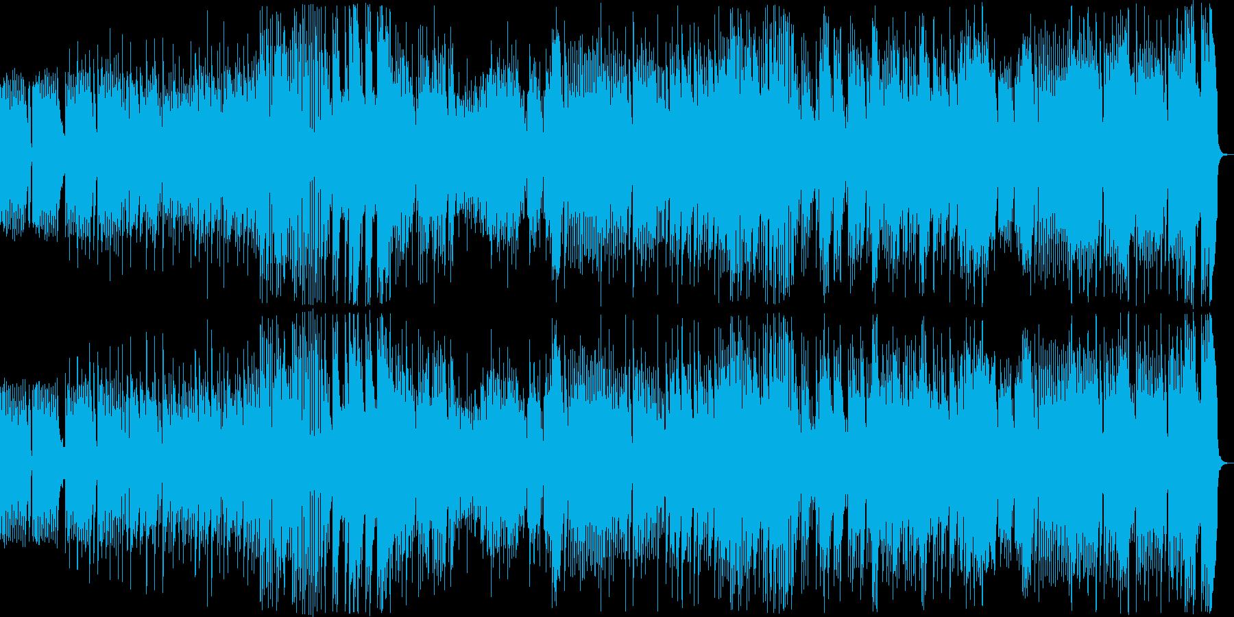 8bit ダークでメルヘンチックなBGMの再生済みの波形