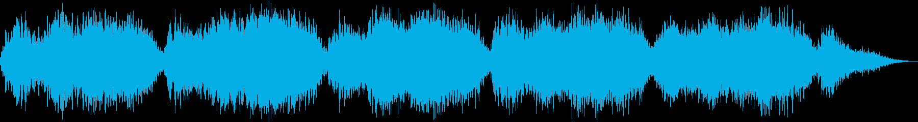 ストレスケアにおすすめのヒーリング音楽の再生済みの波形