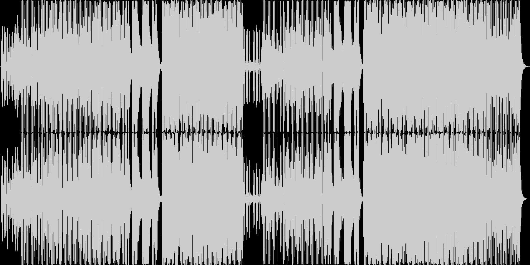 心地良いテンポ感のポップスの未再生の波形