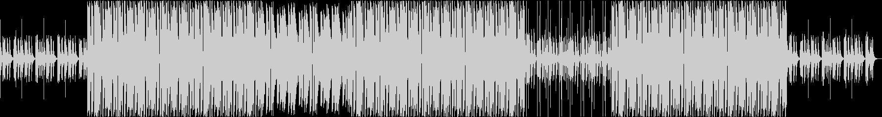トロピカル トラップビートの未再生の波形