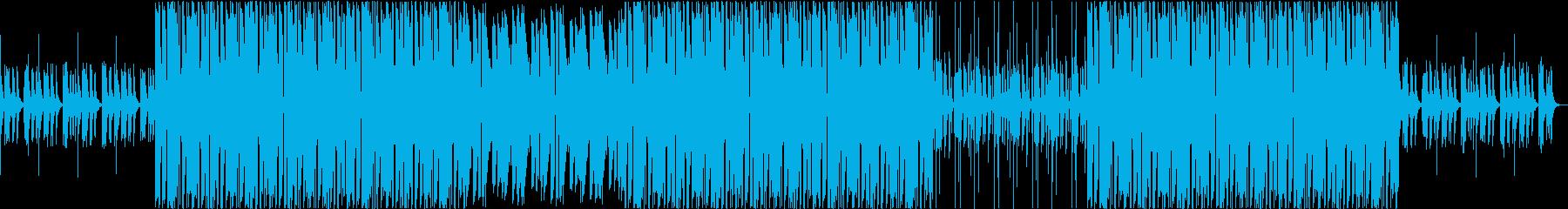 トロピカル トラップビートの再生済みの波形