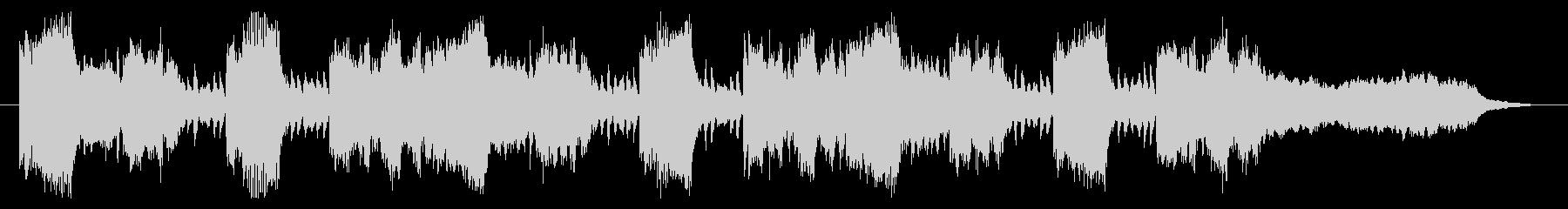ハロウィン ホラー Future Popの未再生の波形