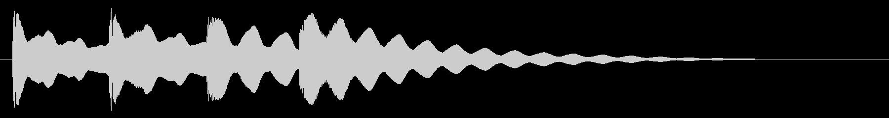 ヒント・発見・クエスチョンの未再生の波形