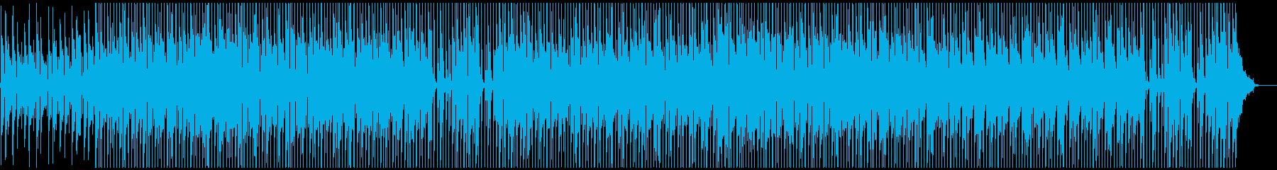さわやか・日常アコースティックギター曲の再生済みの波形