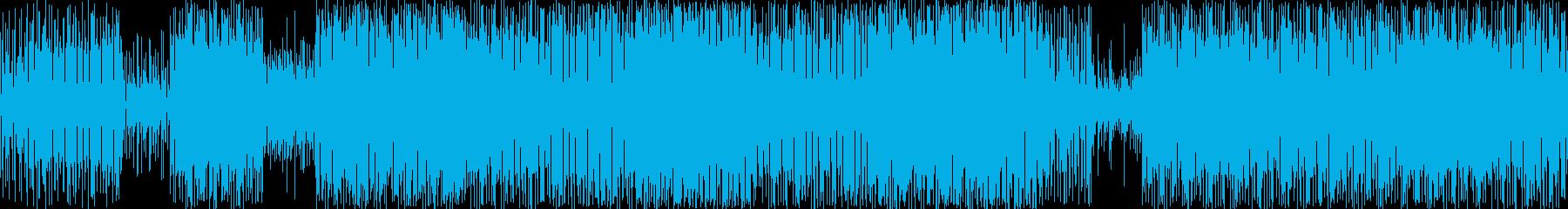 軽快なリズムと印象的なリズムが特徴的な…の再生済みの波形