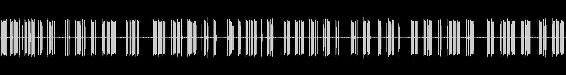 モールス信号トレーナー:穴あきスト...の未再生の波形