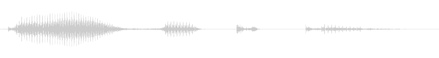 パーフェクトの未再生の波形