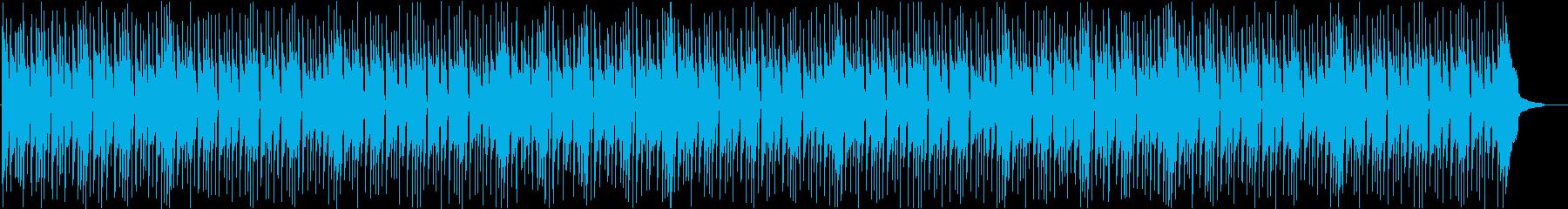 爽やかな休暇をイメージしたピアノBGMの再生済みの波形