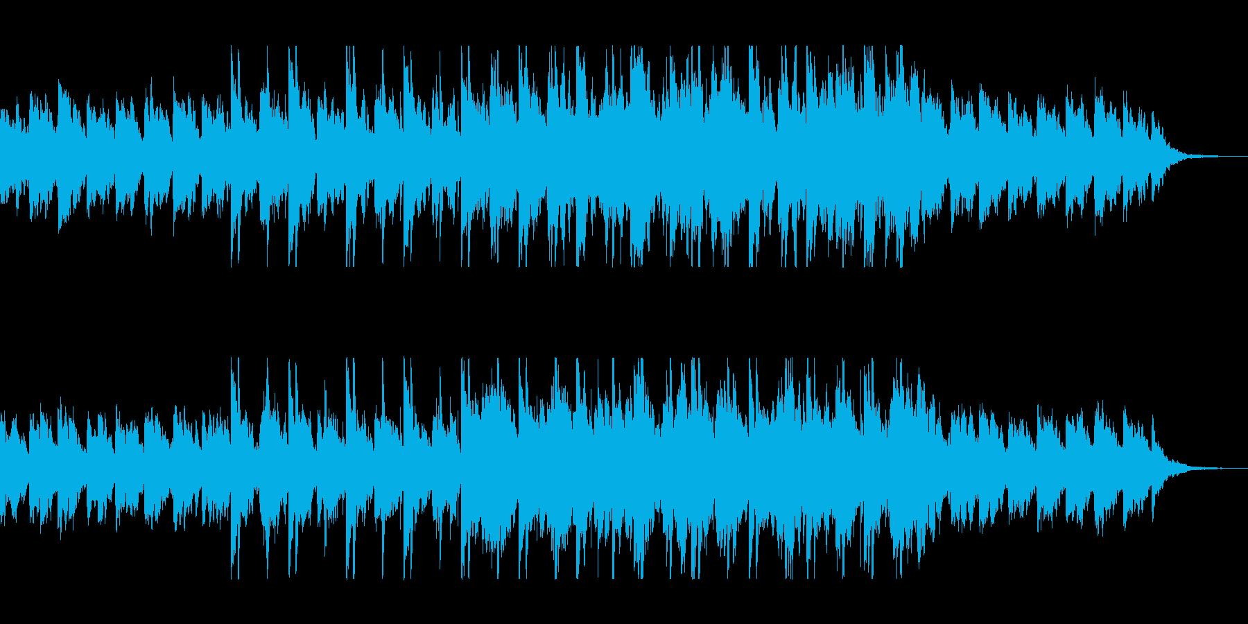 異世界感を放つ癒しのピアノバラードの再生済みの波形