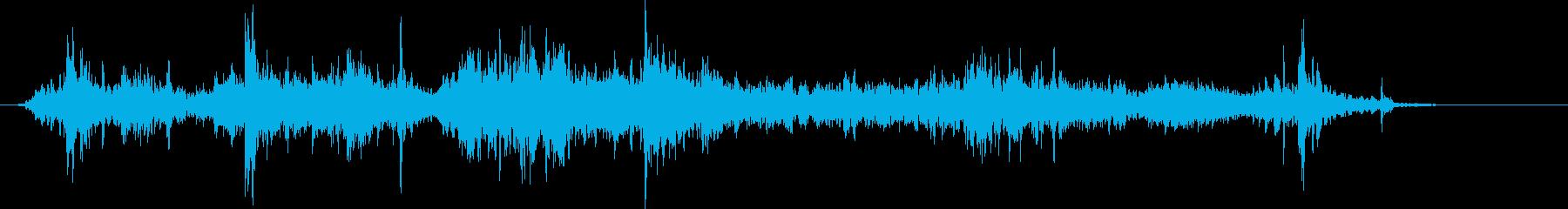 ket:残響クリプト、木箱、コンテ...の再生済みの波形