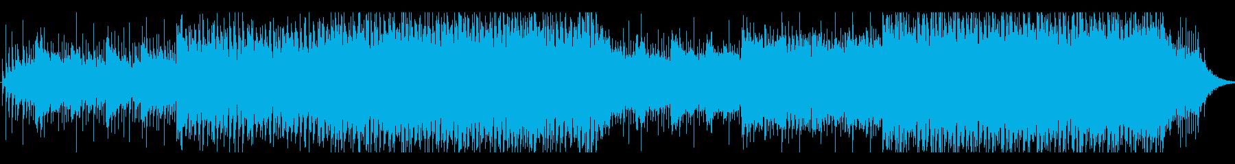 ポップ テクノ ロック ファンク ...の再生済みの波形