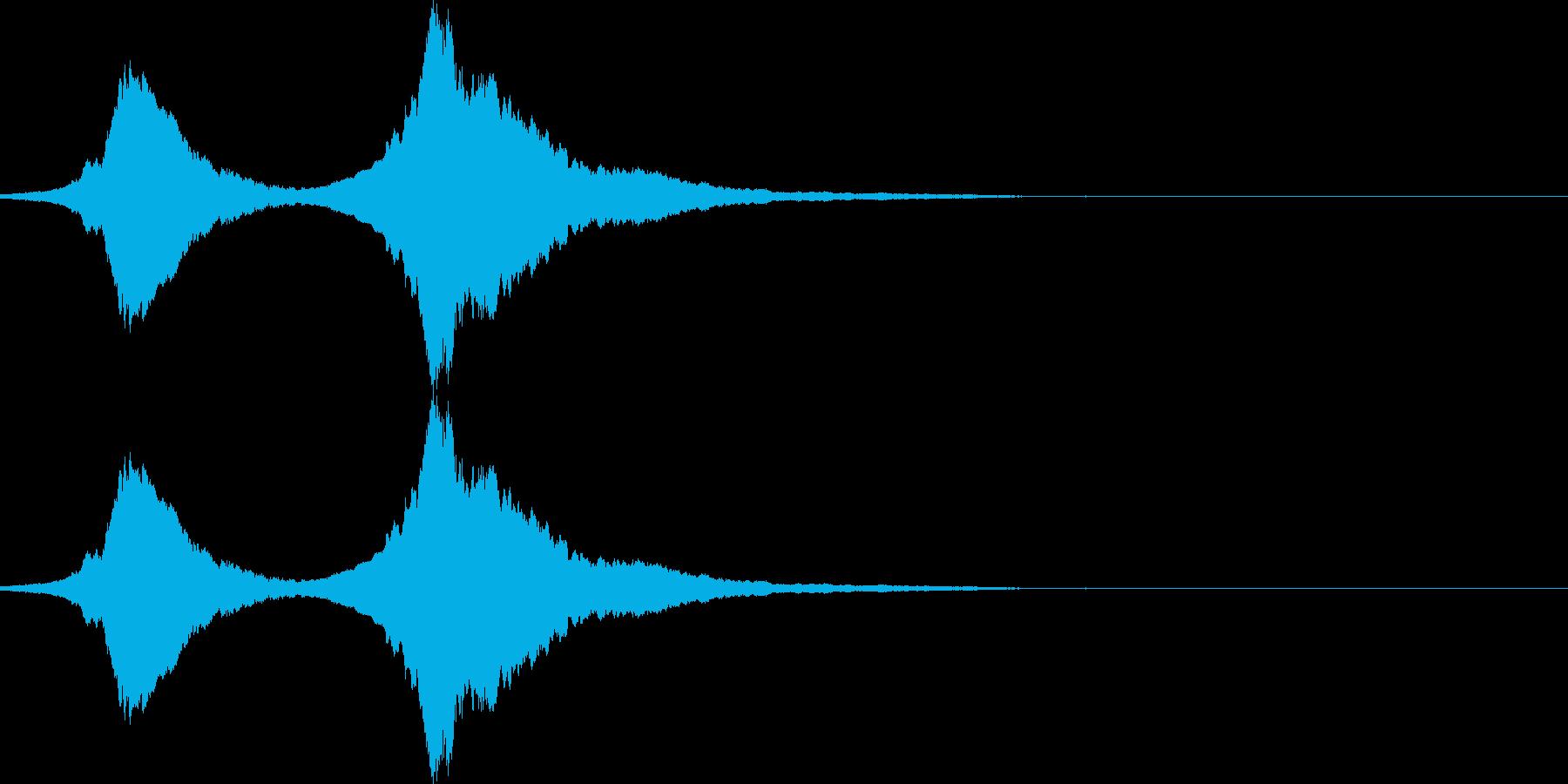 サイレンホイッスル ヒュ~ン!Ver.2の再生済みの波形
