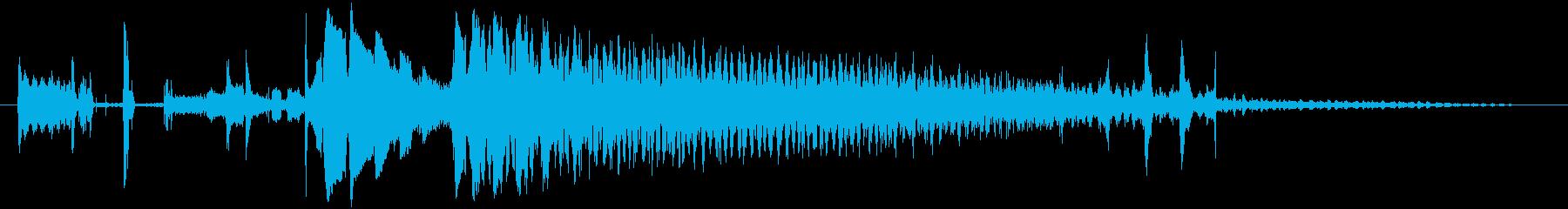 CINEMATIC BEEP 02の再生済みの波形